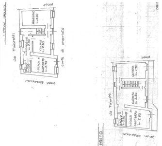 planimetria Casa indipendente Vendita Monteu da Po
