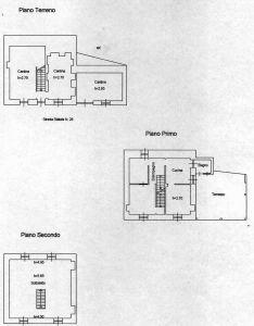 planimetria Casa indipendente Vendita Ormea