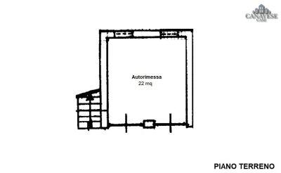 planimetria Casa indipendente Vendita Parella