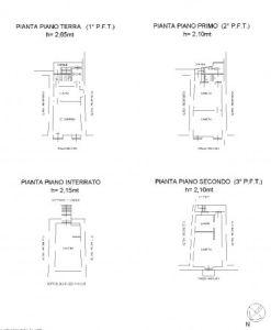 planimetria Casa indipendente Vendita Pinasca