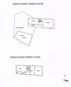 planimetria Casa indipendente Vendita Posta Fibreno