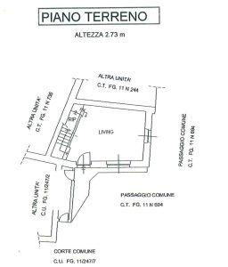 planimetria Casa indipendente Vendita Reano