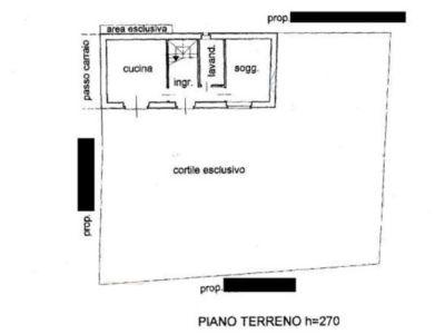 planimetria Casa indipendente Vendita Rivara