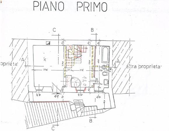 foto piano primo Casa indipendente vicolo Castello 15B, San Bernardino Verbano