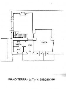 planimetria Casa indipendente Vendita San Giovanni Bianco