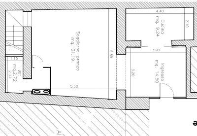 planimetria Casa indipendente Vendita Santa Maria Capua Vetere