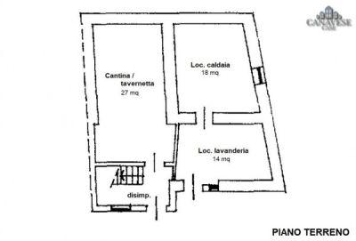 planimetria Casa indipendente Vendita Strambinello