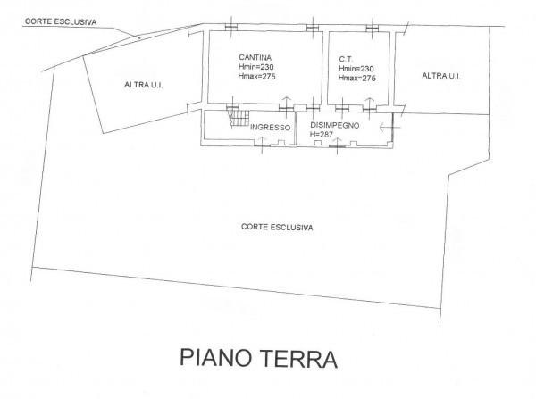 foto PLAN PIANO TERRA Casa indipendente via del Molino 6, Strambinello