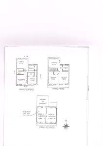 planimetria Casa indipendente Vendita Strambino
