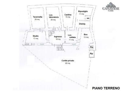 planimetria Casa indipendente Vendita Vico Canavese