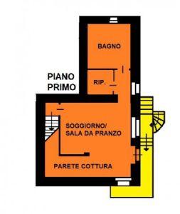 planimetria Casa indipendente Vendita Villar Pellice