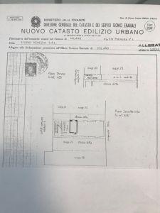 planimetria Loft / Open Space Affitto Milano