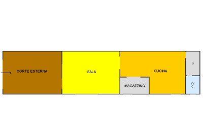 planimetria Loft / Open Space Vendita Alba Adriatica