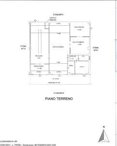 planimetria Palazzo / Stabile Affitto Fossano