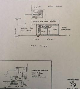 planimetria Palazzo / Stabile Vendita Casalgrasso