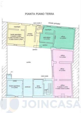 foto piano terra Palazzo / Stabile tre piani, da ristrutturare, Crema