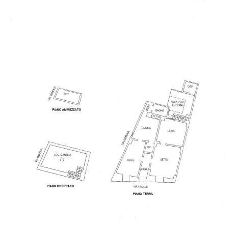 foto PLANIMETRIA1 Palazzo / Stabile via Racale 69, Melissano