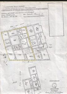 planimetria Palazzo / Stabile Vendita Montefiascone