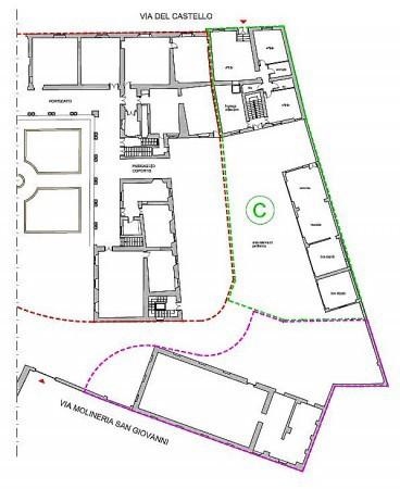 foto Edificio C: plan generale Palazzo / Stabile via del Castello, Piacenza
