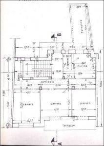 planimetria Palazzo / Stabile Vendita Pietravairano