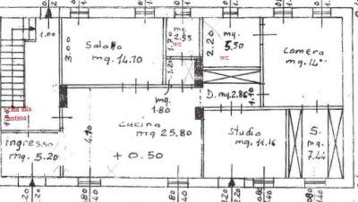 planimetria Rustico / Casale Vendita Abbasanta