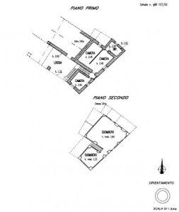 planimetria Rustico / Casale Vendita Borgo San Dalmazzo