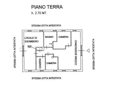 planimetria Rustico / Casale Vendita Cantalupa