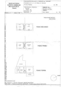 planimetria Rustico / Casale Vendita Cantiano