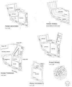 planimetria Rustico / Casale Vendita Caravino