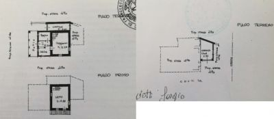 planimetria Rustico / Casale Vendita Cissone