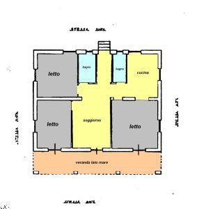 planimetria Rustico / Casale Vendita Cuglieri