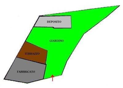 planimetria Rustico / Casale Vendita Fenestrelle