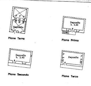 planimetria Rustico / Casale Vendita Gignod