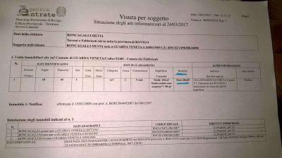 planimetria Rustico / Casale Vendita Guarda Veneta
