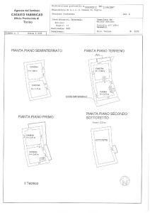 planimetria Rustico / Casale Vendita Ingria