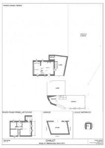 planimetria Rustico / Casale Vendita La Salle