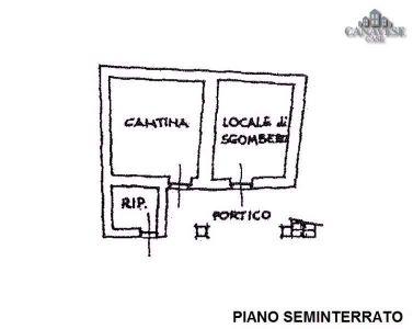 planimetria Rustico / Casale Vendita Lugnacco