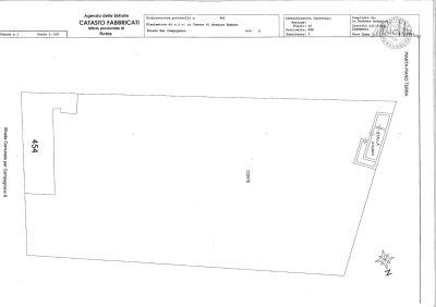 planimetria Rustico / Casale Vendita Mazzano Romano