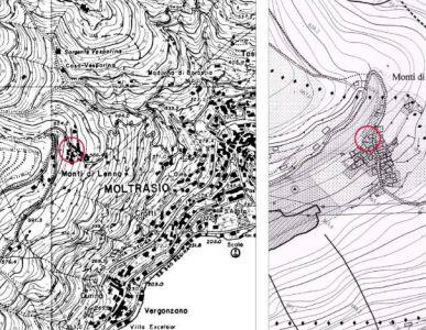 planimetria Rustico / Casale Vendita Moltrasio