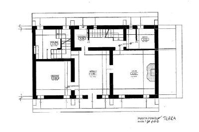 planimetria Rustico / Casale Vendita Montebelluna