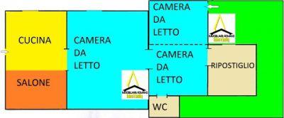 planimetria Rustico / Casale Vendita Napoli