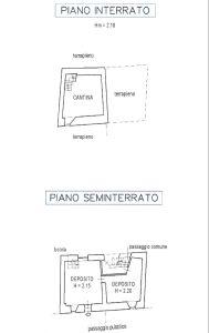 planimetria Rustico / Casale Vendita Novalesa