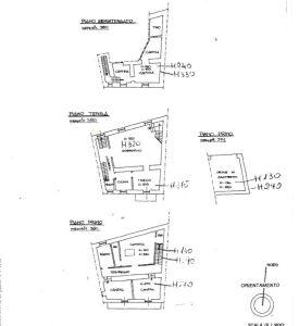 planimetria Rustico / Casale Vendita Odalengo Piccolo