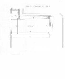 planimetria Rustico / Casale Vendita Osasco