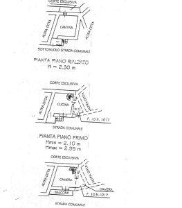 planimetria Rustico / Casale Vendita Pramollo