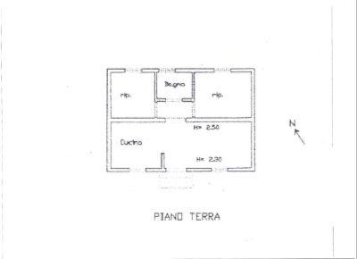 planimetria Rustico / Casale Vendita Ragusa