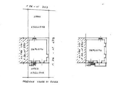 planimetria Rustico / Casale Vendita Rocca Canavese