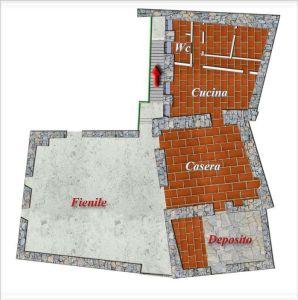 planimetria Rustico / Casale Vendita Saint-Pierre