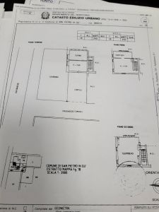 planimetria Rustico / Casale Vendita San Pietro in Gu