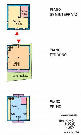 foto planimetrie Rustico / Casale Località Cioina, Trasquera
